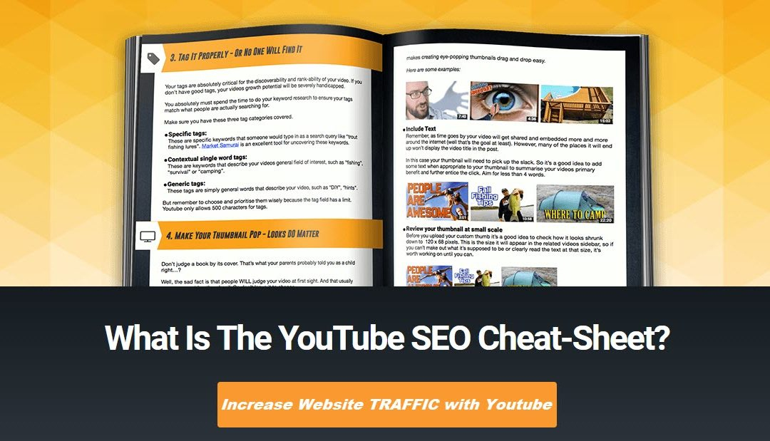 FREE Youtube SEO Cheatsheet for Driving Traffic With Videos